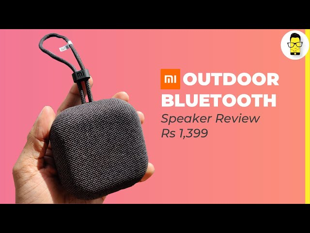Mi Outdoor Bluetooth Speaker review: worth Rs 1,399? | Shot on OnePlus 7T Pro