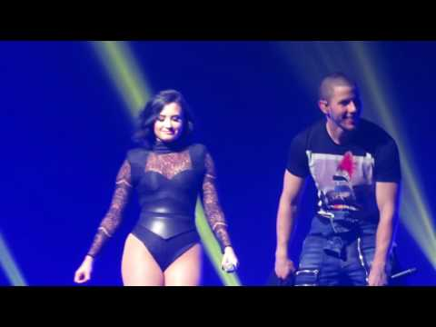 Panda - Desiigner live Future Now Tour ft. Demi Lovato and Nick Jonas 7/8/16
