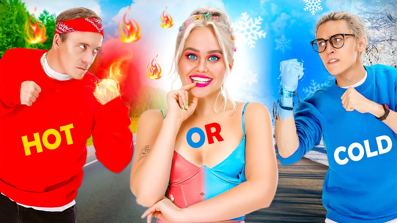 HOT vs COLD Boyfriend! How to become popular || FUN2U