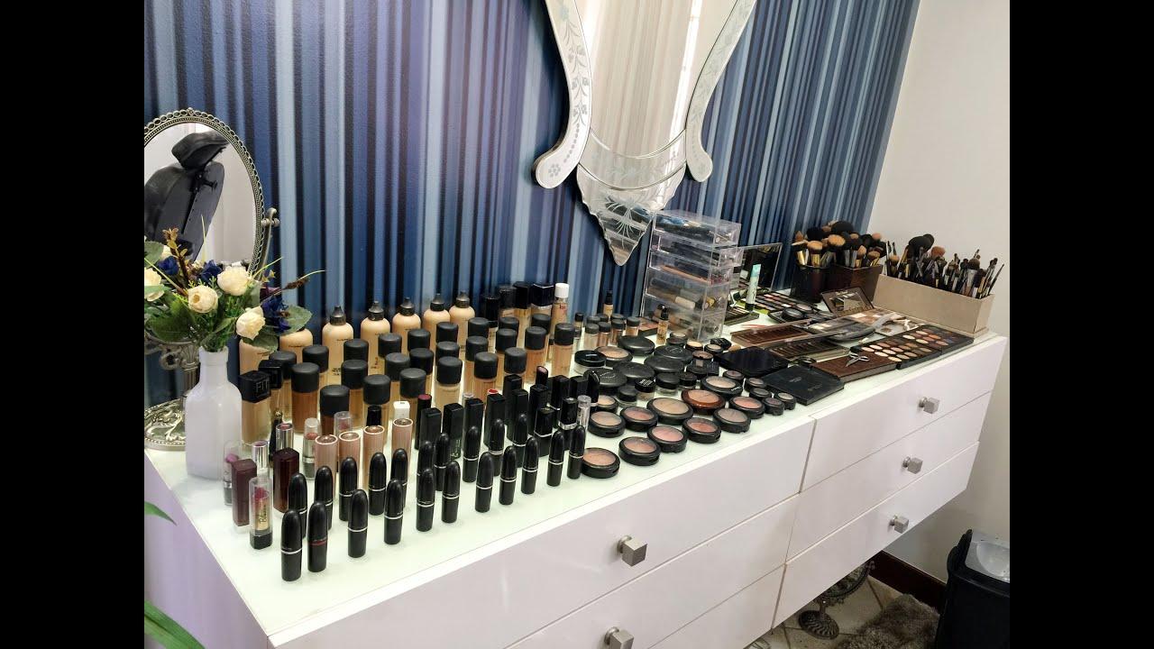 Meu stúdio de maquiagem Minha bancada de maquiagem   #614934 3000x2250