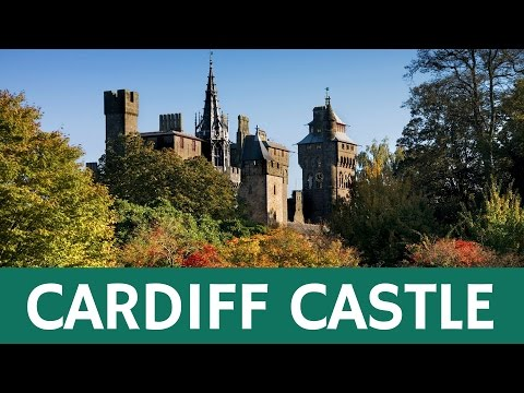 Cardiff Castle in Wales (Roman Fort, Victorian Gothic Mansion)