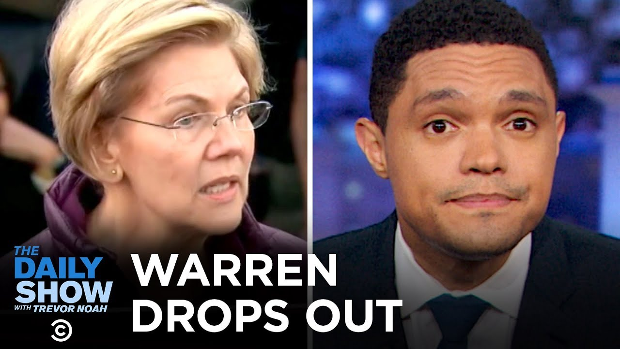 Warren Drops Out, Trump Shrugs Off Coronavirus & An Ironic Car Accident | The Daily Show