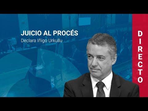 Iñigo Urkullu declara en el juicio al procés (28/02/19, COMPLETO)