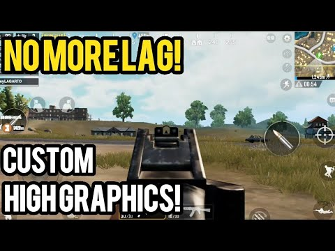 Play On High With No Lag Custom Graphics Pubg Mobile Android