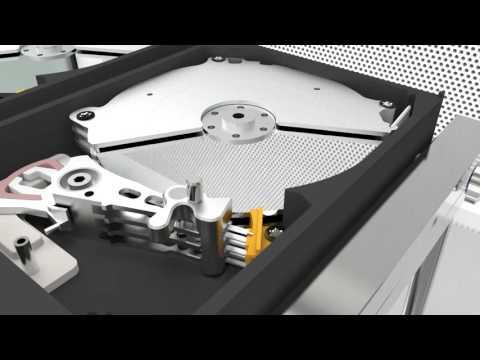 HDDS WD Black 2.5''-3.5''' Ramp Set - Animation