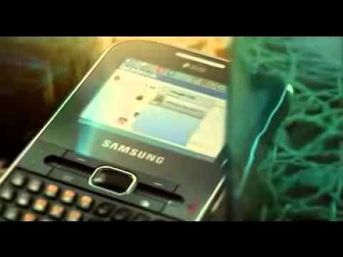 Samsung Chat 322 FULL QWERTY DUAL SIM DOUBTLE SIM TEASER COMMERCIAL,AD, INTRODUCTIONflv
