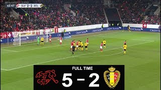 Download Video SWITZERLAND  5  -  2  BELGIUM  PREVIEWED  HIGHLIGHTS MP3 3GP MP4
