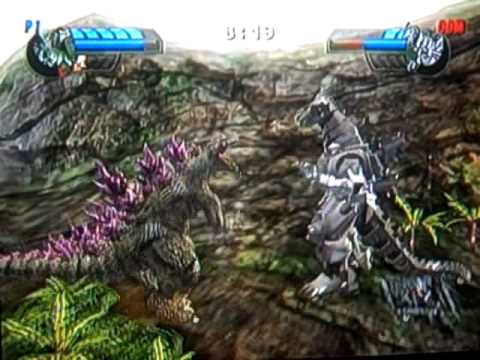 Godzilla: Unleashed Wiiquests: Godzilla 2000 vs. Kiryu ...