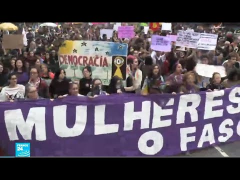 البرازيل: مظاهرات حاشدة للتنديد بمرشح اليمين المتطرف للانتخابات  - 10:54-2018 / 10 / 8