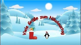 Liebe Nikolausgrüße für dich – Ein kleiner Nikolausgruß – Viele Grüße zum Nikolaus 🎅