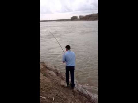 Paddle Fishing North Dakota