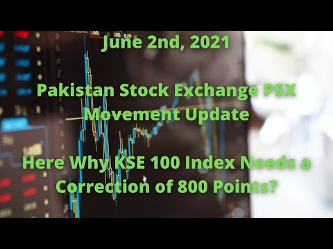 Pakistan Stock Market Guideline: Here Why KSE 100 Index Needs a Correction of 800 Points?