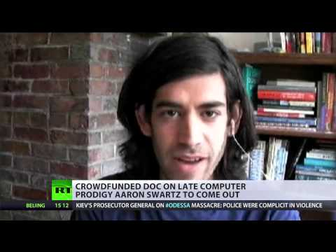 Internet's Own Boy: 'Cyber-Robin Hood' Aaron Swartz honored in crowdfunded doc