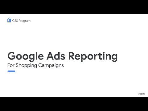 CSS Webinar: Shopping Reporting