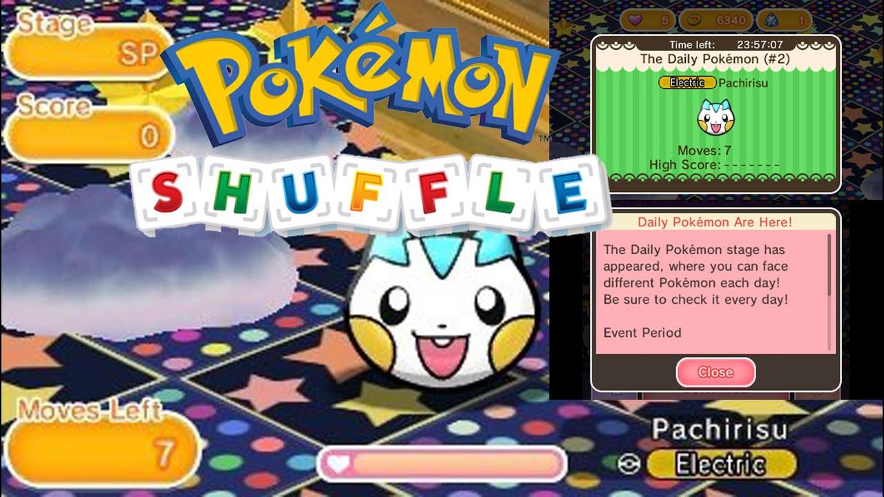 Pokémon Shuffle Pachirisu
