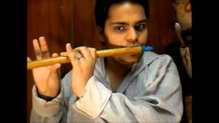 Indian National Anthem on a bamboo flute