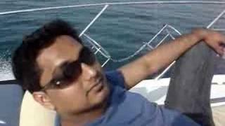 Burj al arab from the Yacht
