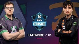 Dota 2 - fnatic vs. Alliance - Game 1 - Group B Ro2 - ESL One Katowice 2019