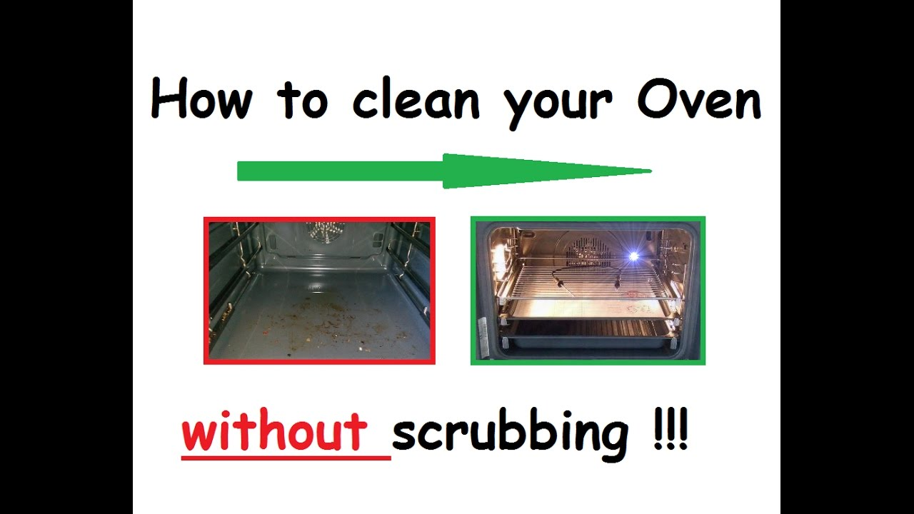 How To Clean Your Oven Without Scrubbing And Chemicals