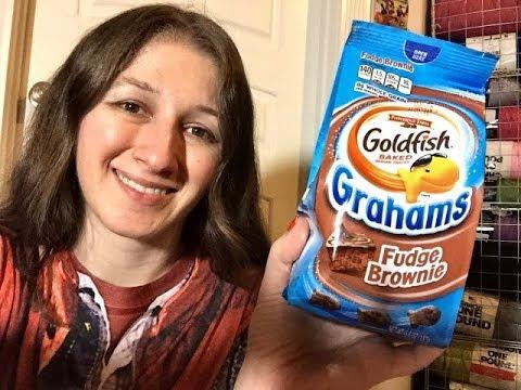 Taste Test Review: Goldfish Grahams - Fudge Brownie