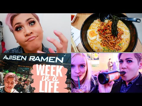 HAVING MY FIRST RAMEN IN MELBOURNE & A NIGHTOUT WITH SAMSUNG