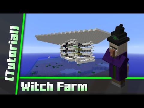 Minecraft 1.10 Witch Farm [Tutorial]