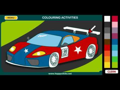 Kolorowanki Samochody Youtube