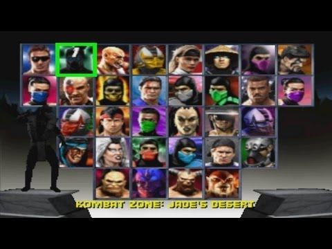 Mortal Kombat Trilogy - Playthrough 1/2 (PSX)