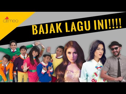 GRATIS! BAJAK LAGU INI - Cameo & Friends [MUSIC VIDEO]