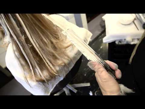 Hair Balayage How To Color Blond by AJ Lordet NYC