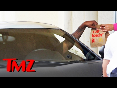 Kanye West Takes His Lambo For A Ride To…McDonalds?! | TMZ