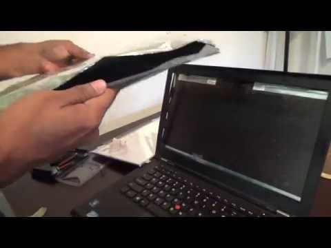 Laptop Screen Replacement / How To Replace Laptop Screen On Lenovo T430s Thinkpad