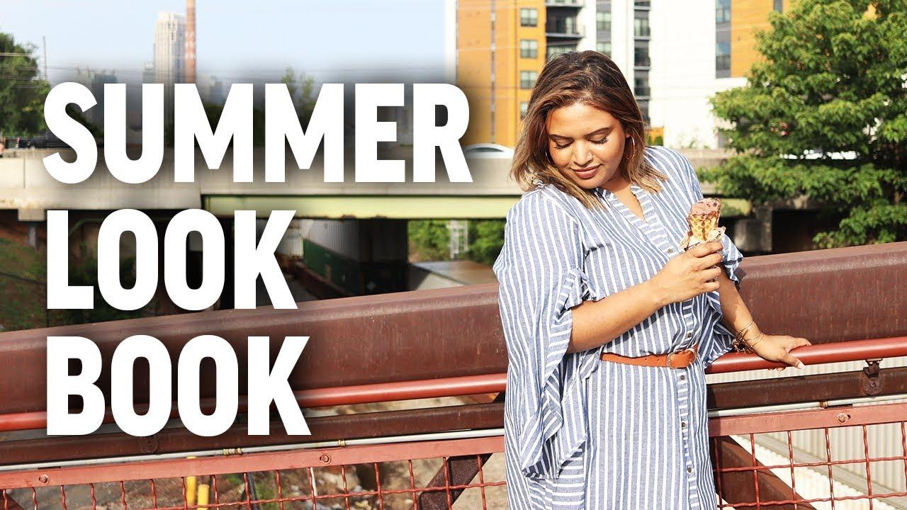 [VIDEO] - Plus Size Fashion: 2019 Summer Lookbook 9