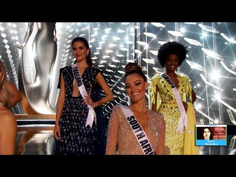 Miss Universe Top 5 Contestants Revealed | LIVE 11-26-17