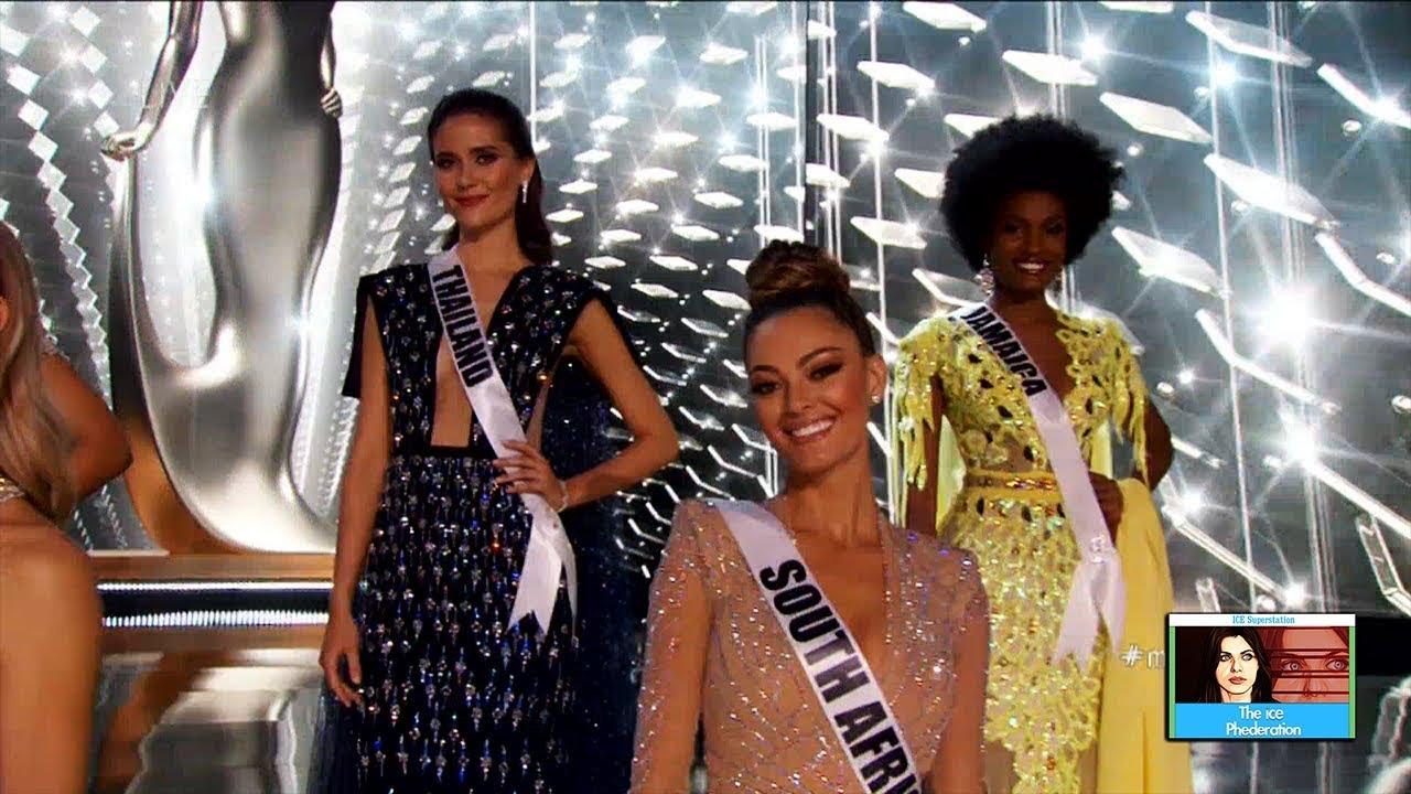 Miss Universe Top 5 Contestants Revealed | LIVE 11-26-17