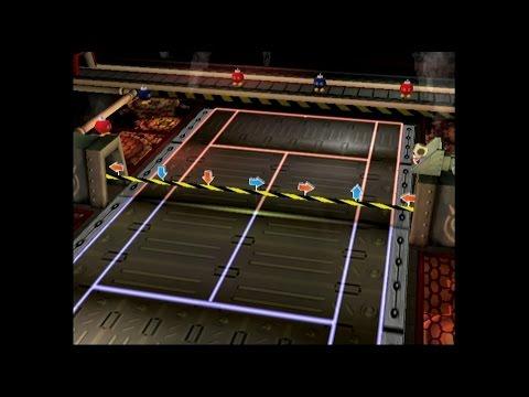 Mario Power Tennis - Wario Factory (Standard + Gimmick)