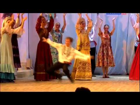 Russian Folk Country Music Dance