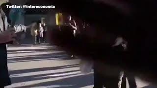 Un periodista de Intereconomía AGREDIDO durante las manifestaciones en Barcelona