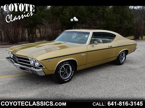 1969 Chevelle SS For Sale At Coyote Classics