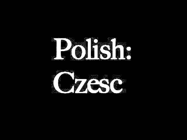 How To Say Goodnight Beautiful In Polish