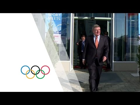 A week with the IOC President!