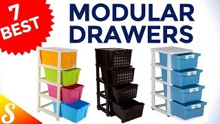 7 Best Modular Drawers for Storage in India with Price | Multipurpose Organizer