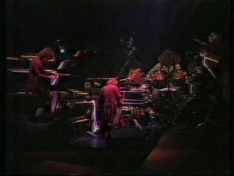 Jethro Tull Keyboard and drum duet 1982