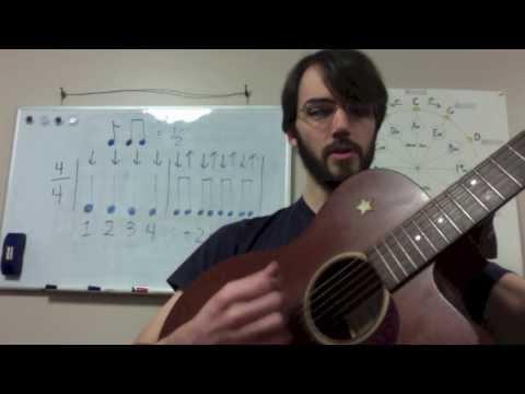 Rhythm Basics for Guitar Lesson 2: Eighth Notes