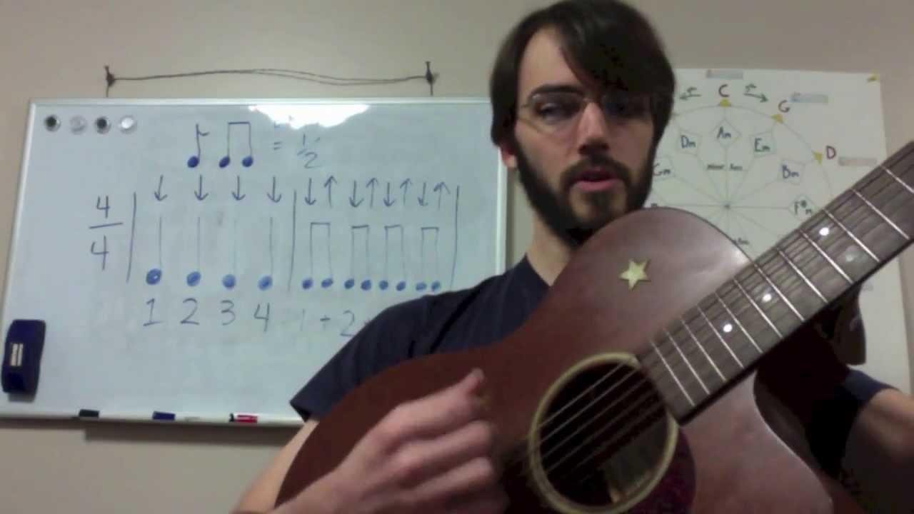 rhythm basics for guitar lesson 2 eighth notes youtube. Black Bedroom Furniture Sets. Home Design Ideas