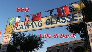 Italienisches BBQ / Camping Classe / Lido di Dante / Ravenna