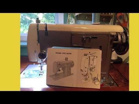 Threading my vintage 1961 All Metal Sears Kenmore Model 51 (158.512) Sewing Machine