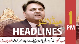 ARY News | Headlines | 1 PM | 22nd September 2021