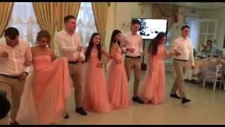 Танец друзей на свадьбе 2017 москва Зал Торжеств Кузьминки