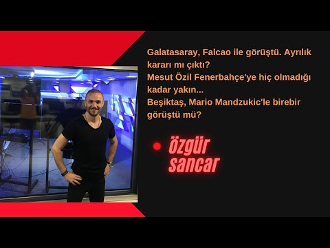 Galatasaray, Falcao ile görüşme yaptı.Ayrılıyor mu? Özil, Fenerbahçe'ye gelecek